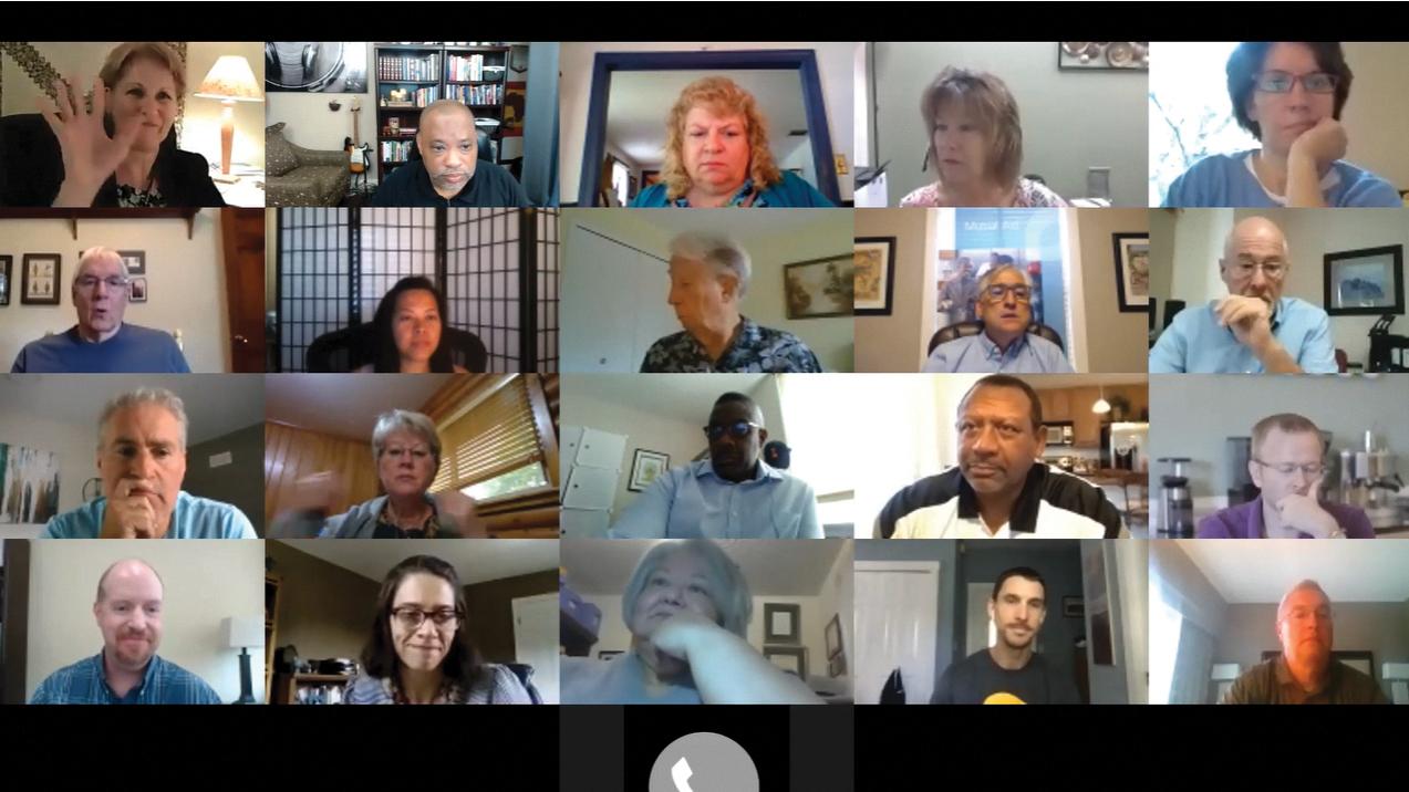 Mennonite Church USA Executive Board members meet by videoconference Sept. 11-12. — Mennonite Church USA