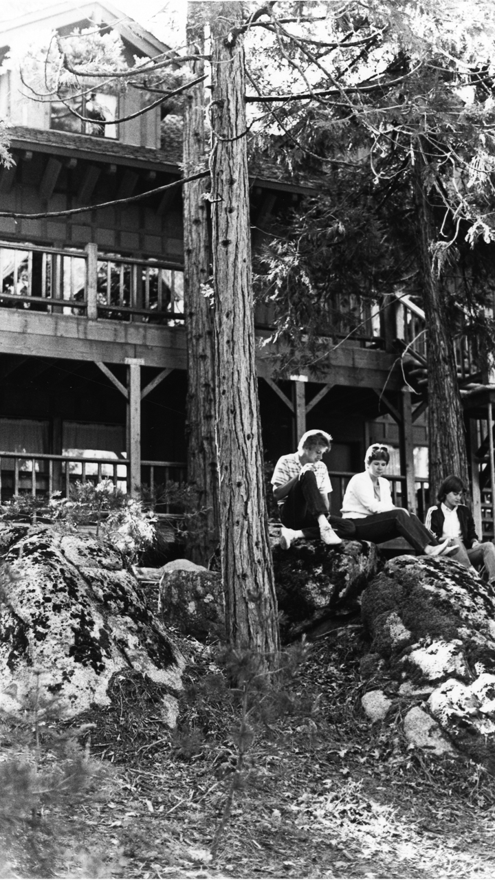 Casa Pacifica near Shaver Lake, Calif., was used by Fresno Pacific University as a retreat center before fires destroyed it in early September. — Fresno Pacific University