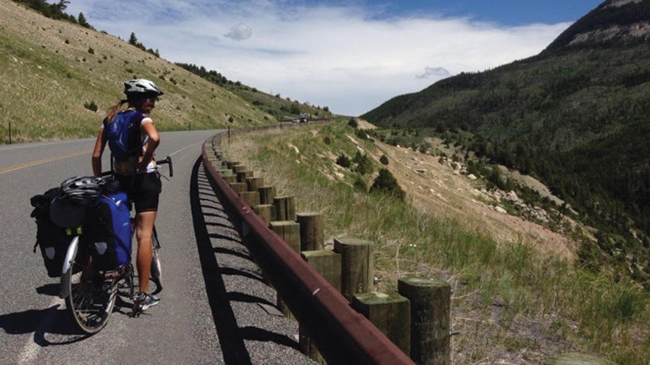 The Center for Sustainable Climate Solutions is looking for more than a dozen bike riders to travel across the United States next year. — Center for Sustainable Climate Solutions