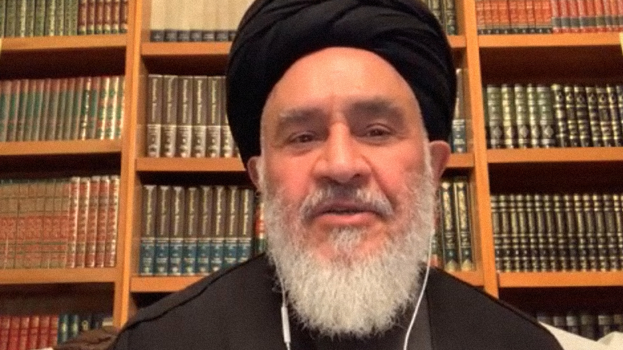 """Ayatollah Damad takes part in a """"Who is My Neighbor"""" webinar Dec. 3 that was coordinated by Luke 10, a group of Canadian and U.S. Mennonites. — Doug Hostetter"""