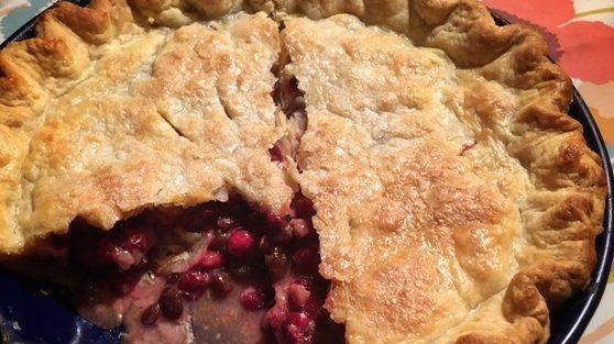 Raisin Cranberry Pie by David Augsburger.