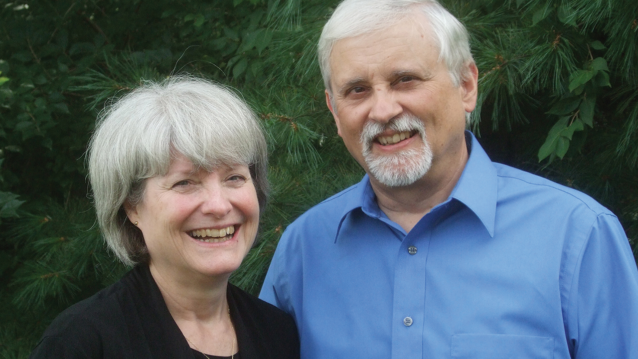 Janie and Neal Blough have served 45 years with Mennonite Mission Network in France. — John Yoder/MMN