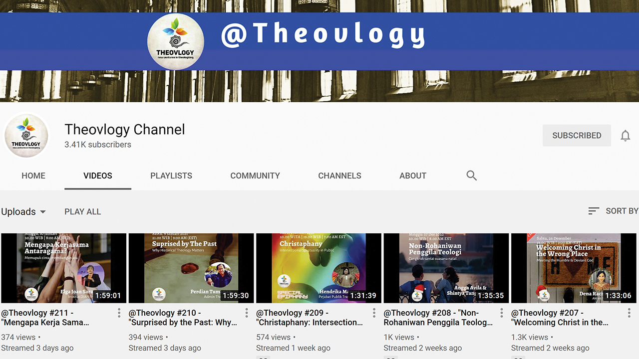 """Theovlogy is a video blog or """"vlog"""" that developed a following an international following of 250,000 in about two years. — Theovlogy"""