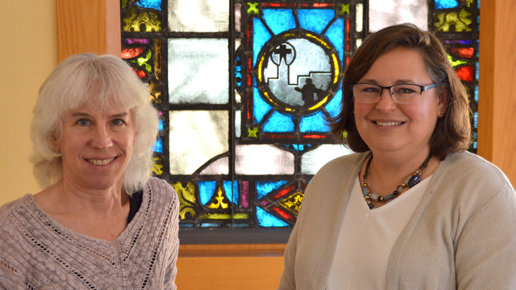 Michelle Shelly, left, is staff physician and medical director at the Center for Healing & Hope, and Missy Schrock is executive director. — Missy Schrock