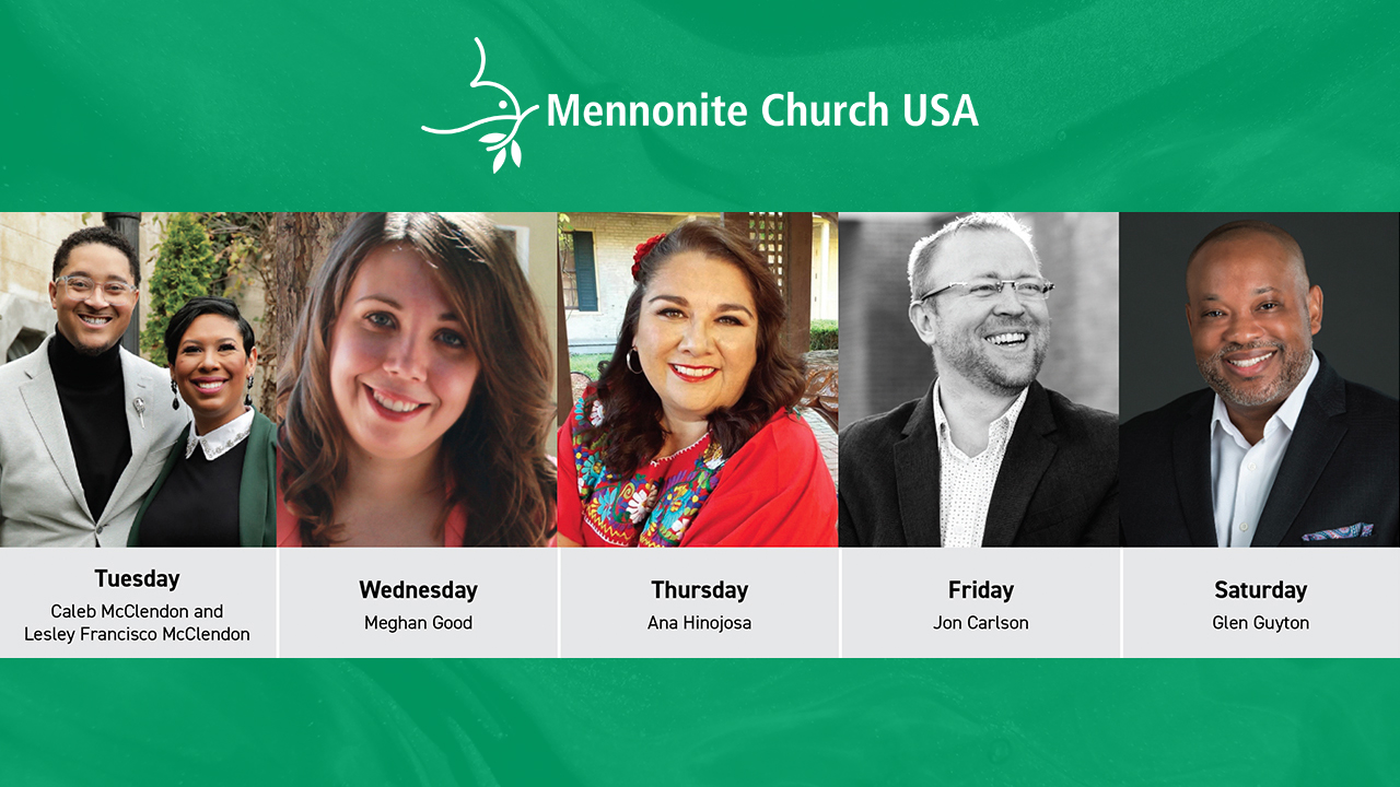 Mennonite Church USA has announced worship speakers for its July 6-10 hybrid in-person and online convention. — Mennonite Church USA