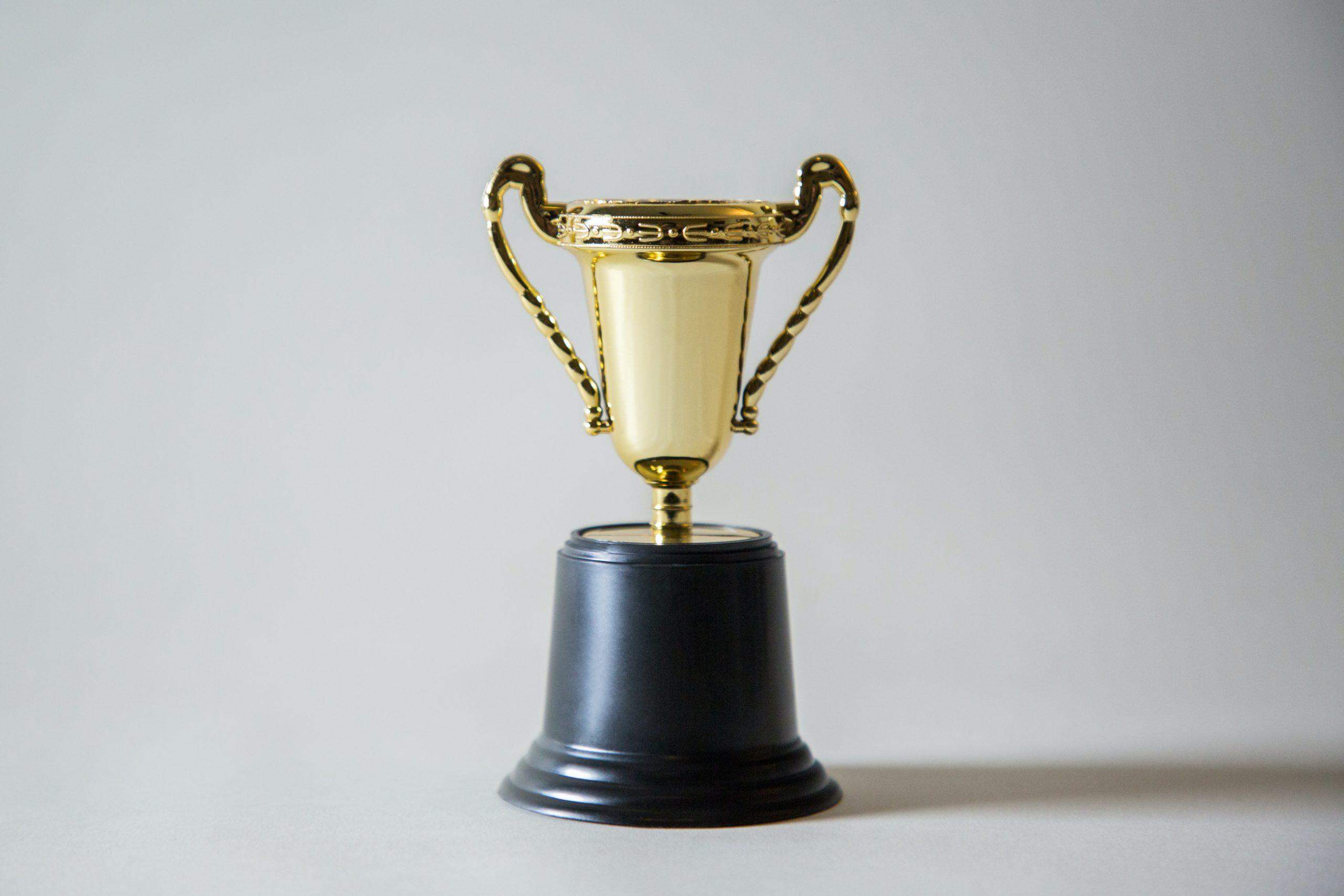 blank trophy