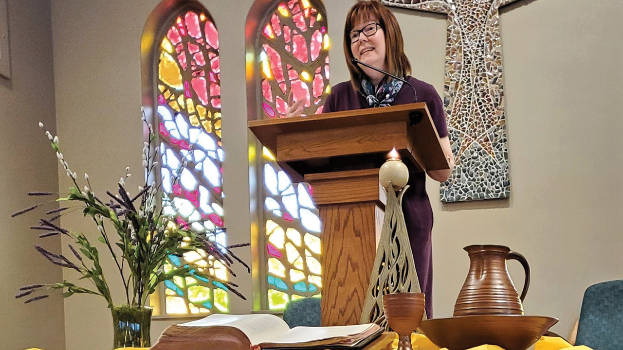 Sue Short has been part of Zion Mennonite Church's collaborative ministry team since 2017. — Sue Short