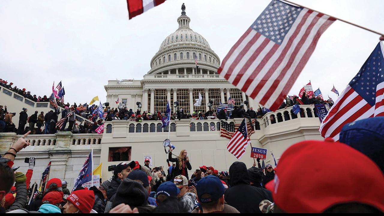 The Jan. 6 Capitol insurrection. — Shafkat Anowar/AP