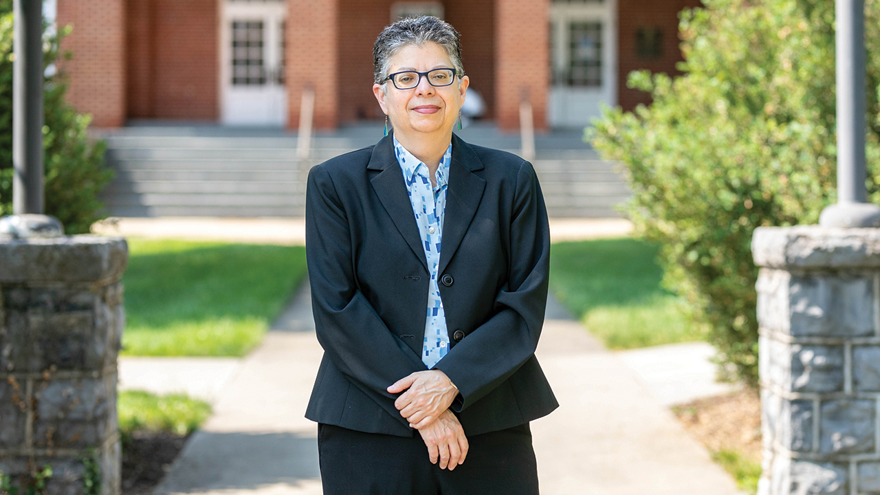 Jacqueline N. Font-Guzmán is executive director of diversity, equity and inclusion at Eastern Mennonite University and a professor at EMU's Center for Justice and Peacebuilding. — Rachel Holderman/EMU